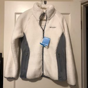 Columbia Sportswear Fleece ZIP Jacket NWT